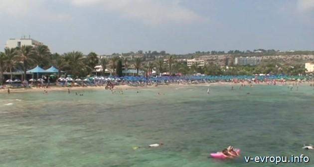 Пляжи Айя-Напа