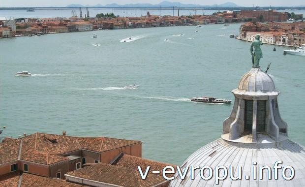 Панорамный вид на Венецию