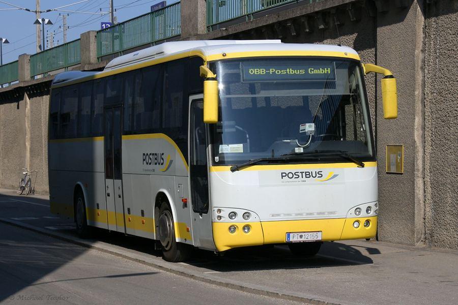 Вена. Автобусы Рostbus