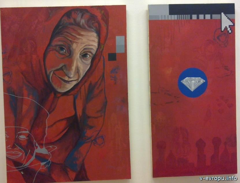 Выставка работ европейских художников