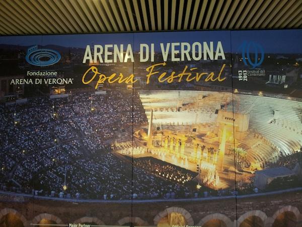 Арена в Вероне во время представления