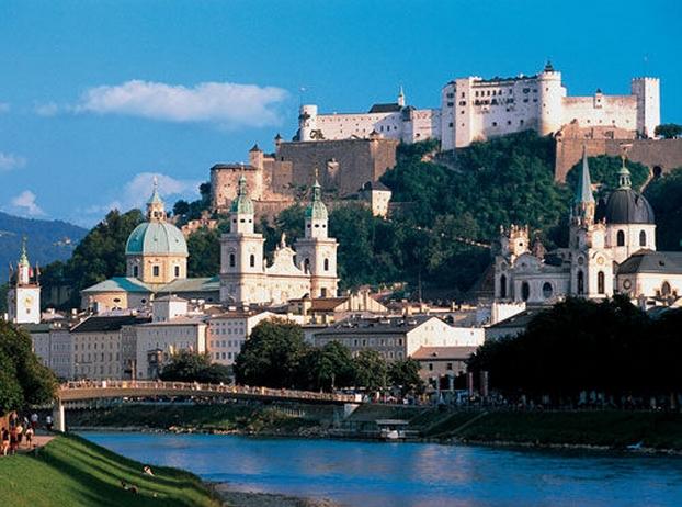 Зальцбург. Австрия.