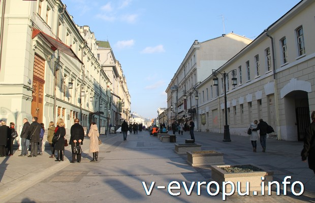 Камергерский переулок. Москва (ноябрь 2013)