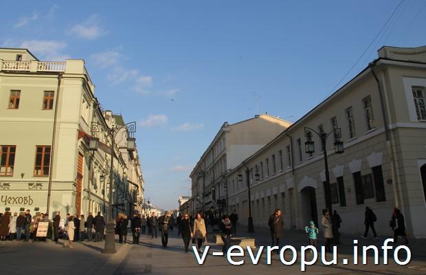 МХТ в Камергерском переулке. Москва