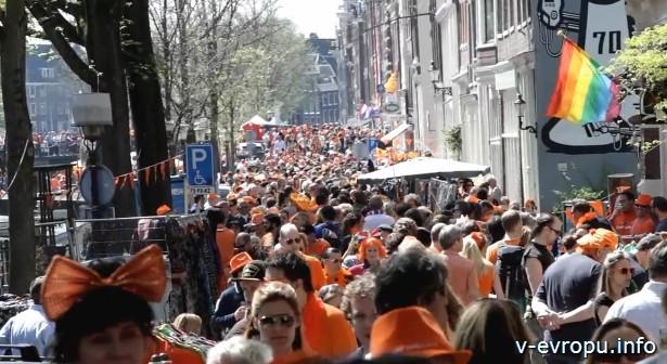 Амстердам День рождения Королевы