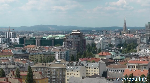 Вена. Панорамный вид с колеса обозрения в Пратере
