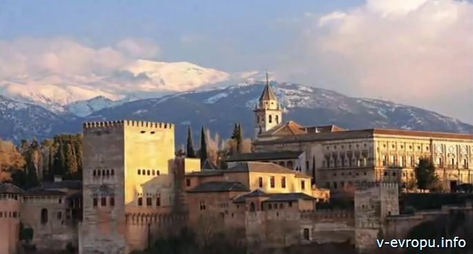 Гранада. Панорама города