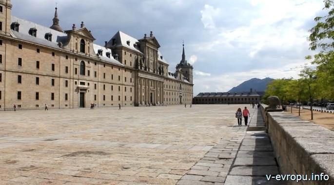 Испания. Замок Эскориал