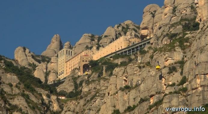 Канатная дорога в Монастырь Монсеррат