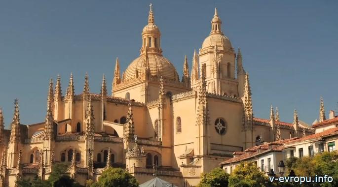 Кафедральный собор в Сеговии. Испания