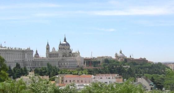 Мадрид. Панорамный вид на город