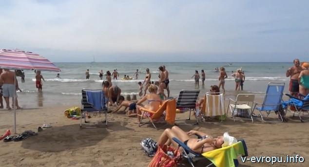 Побережье Испании_Пляж Сегур де Калафелль