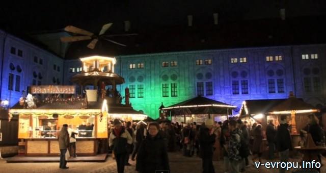 Рождественские рынки Мюнхена