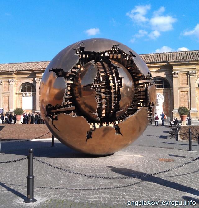 Музей Ватикана_Путешествие в Рим и Флоренцию в ноябре