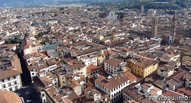 Флоренция_панорамный вид на город