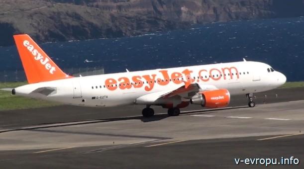 лоукост авиакомпания easyJet