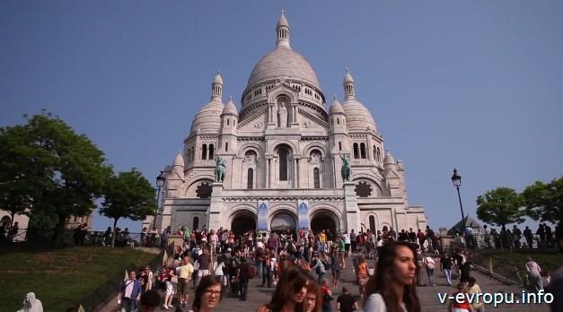 Базилика Сакре-кёр Париж