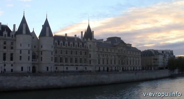 Замок Коньержери в Париже