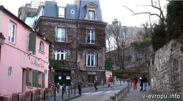 Первая поездка в Париж. Монмартр