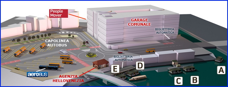Венеция_автобусная станция на пьяцалле Рома