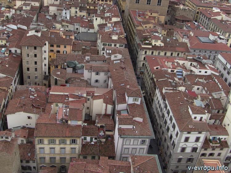 Панорама улиц Флоренции
