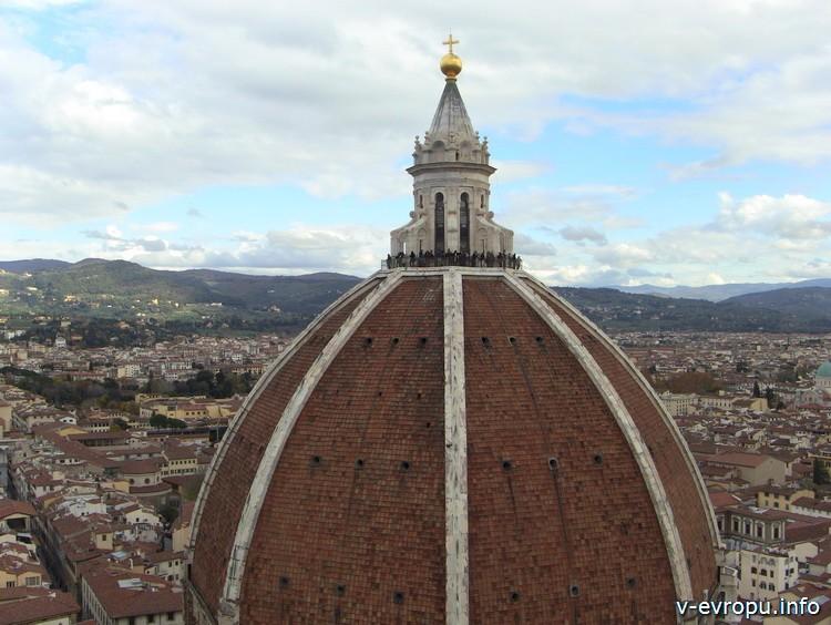 Купол Брунеллески собора Санта дель Фиори. Флоренция.