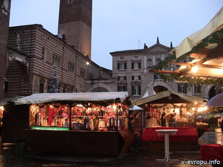 Флоренция. Рынок на площади Сан Лоренцо