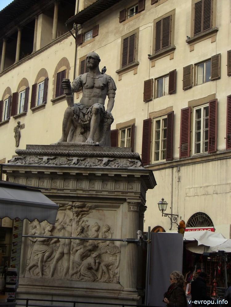 Piazza San Lorenzo. Флоренция