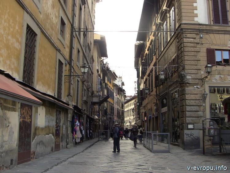 Улочка в центре Флоренции