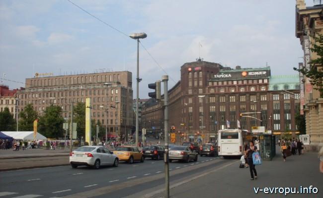 На велосипеде по Северной Европе. Хельсинки. Центр города