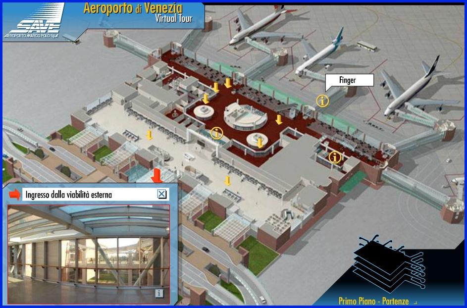 Аэропорт Венеции Марко Поло_схема