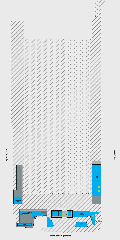 Рим Термини схема второго этажа вокзала