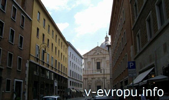 Рим. Церковь Сан Андреа делла Валле