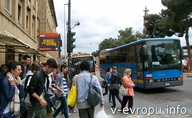Во Флоренцию на автобусе