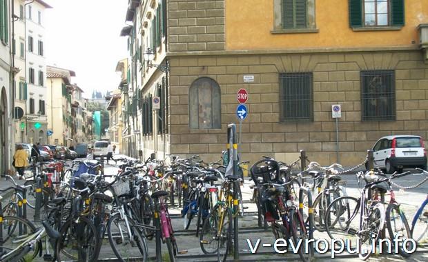 Велосипеды во Флоренции