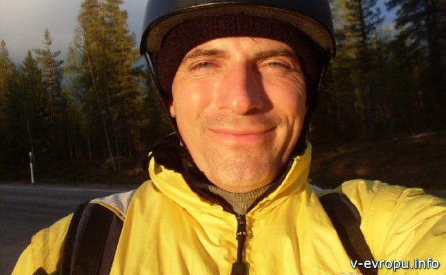 На велосипеде по Европе_Николай-велопутешественник