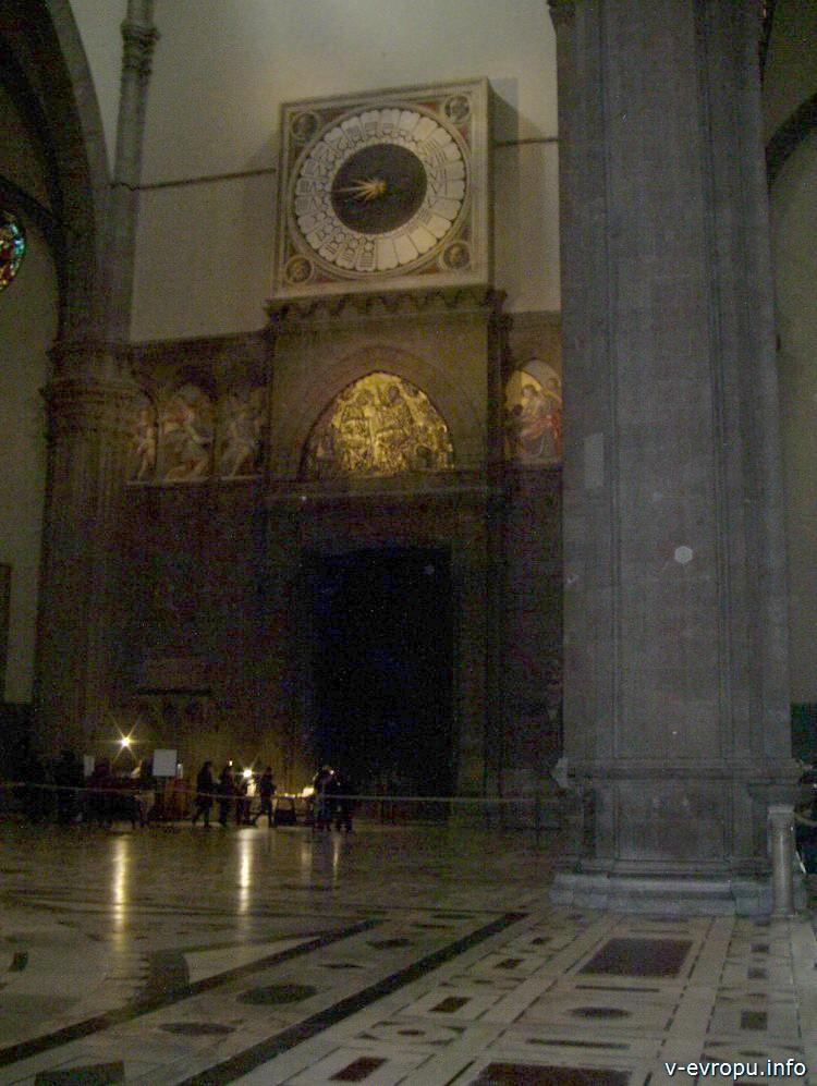 Календарь в соборе Санта Мария дель Фиоре. Флоренция