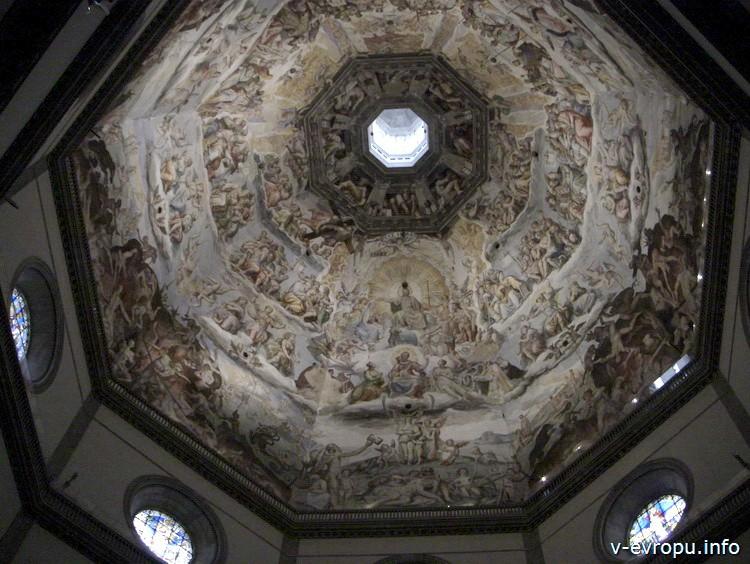 Флоренция. Внутренний купол Собора Санта Мария дель Фиоре
