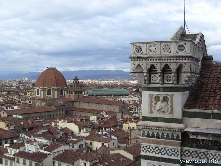 Профиль фасада базилики Санта Мария дель Фиоре