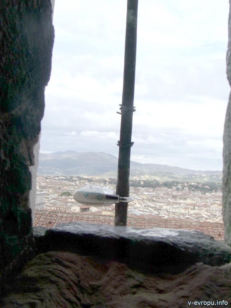 Флоренция из окна колокольни Кафедрального Собора