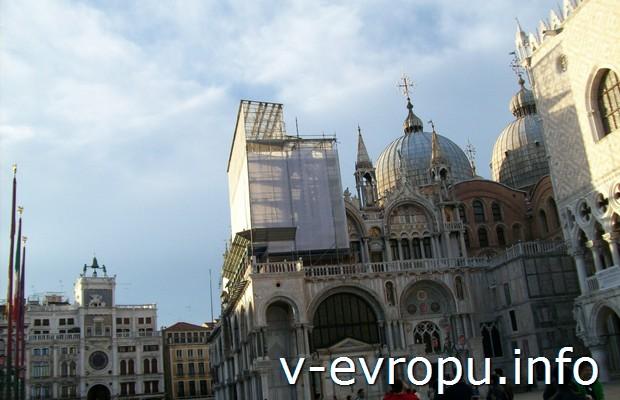 Венецианский собой Сан Марко весной 2013 года