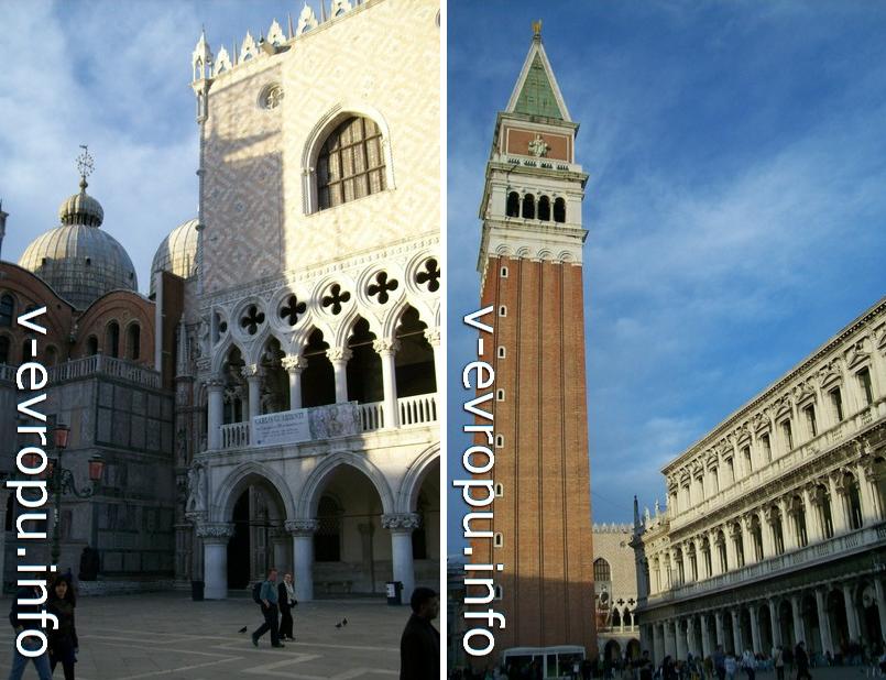 Колокольня Сан Марко в Венеции