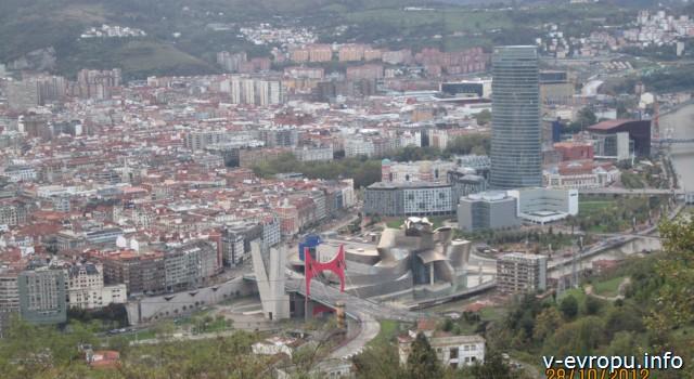 Бильбао_панорамный вид на город
