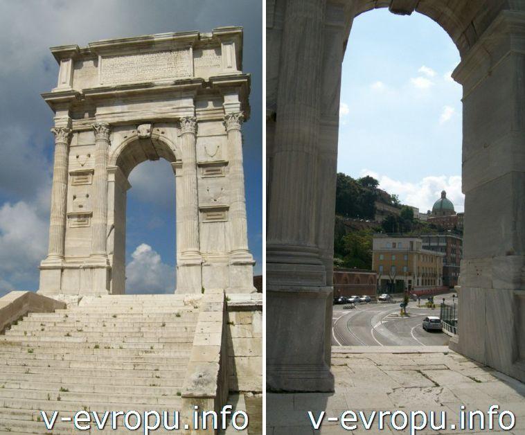 Анкона: Триумфальная Арка Траяна. Фото
