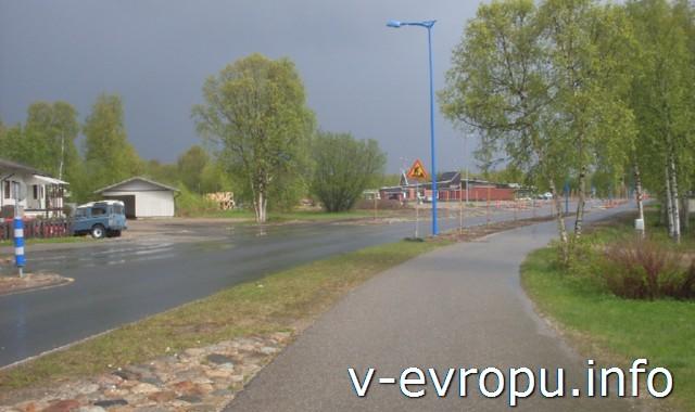 Первый день велопутешествия. Финский городок Ивало