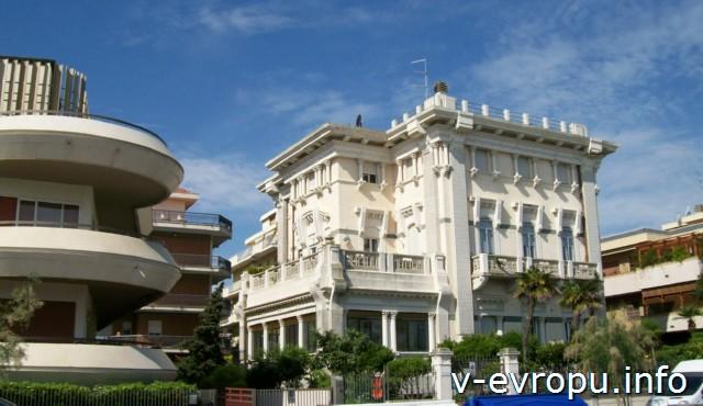 Пескара. Италия.Типичная архитектура города