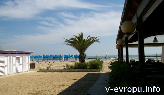 Пескара.Пляжи