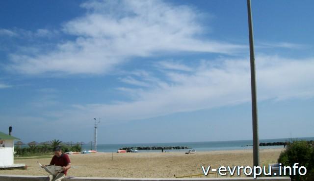 Пескара. Италия.Городской пляж