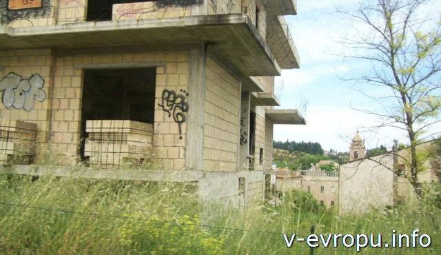 Пескара. Италия. стройка жилого дома