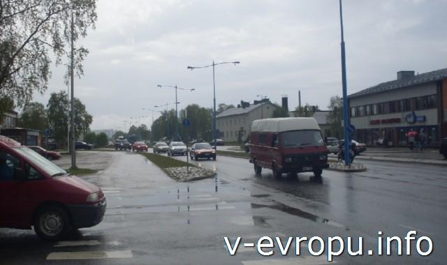 Начало велопутешестия по Европе. Ивало - первый финский город